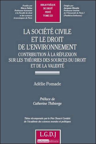 La société civile et le droit de l'environnement