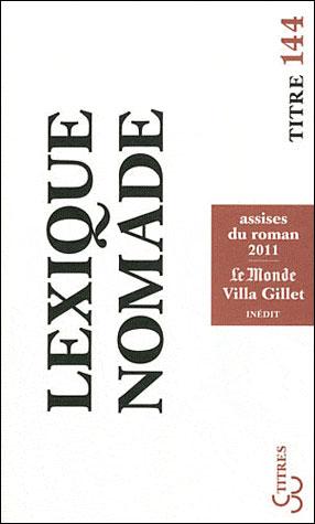 Lexique nomade