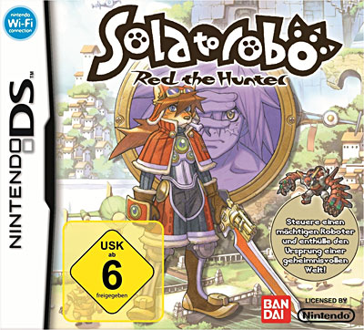 Sola to Robo - Red the hunter - Nintendo DS