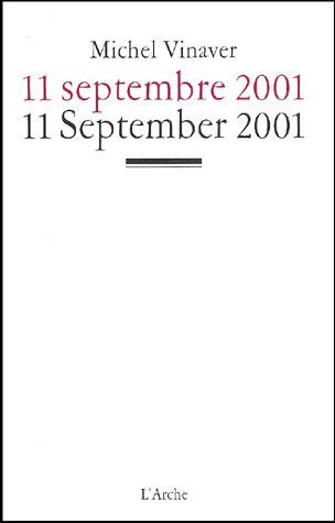 11 septembre 2001 / 11 September 2001