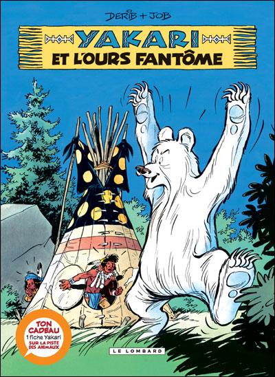 Yakari - Avec une fiche animal Tome 24 : Yakari et l'ours fantôme