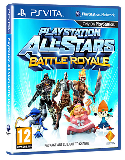 Playstation All-Stars Battle Royale PS Vita - PS Vita