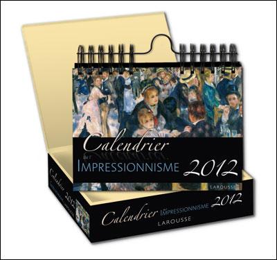Calendrier 2012 : Impressionnisme