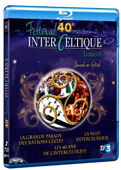 Le 40ème festival interceltique de lorient blu ray