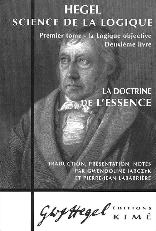 La doctrine de l'essence