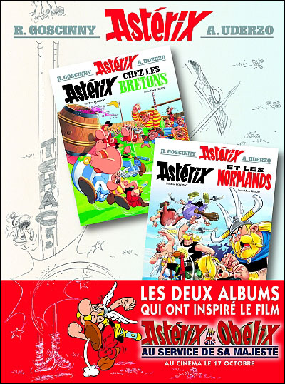 Astérix Bretons/Normands - Album double