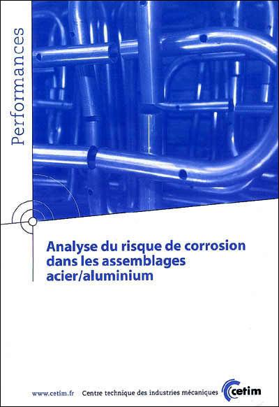 Analyse du risque de corrosion dans les assemblages acier-aluminium
