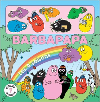 Barbapapa - Livre magnet : Les quatre saisons