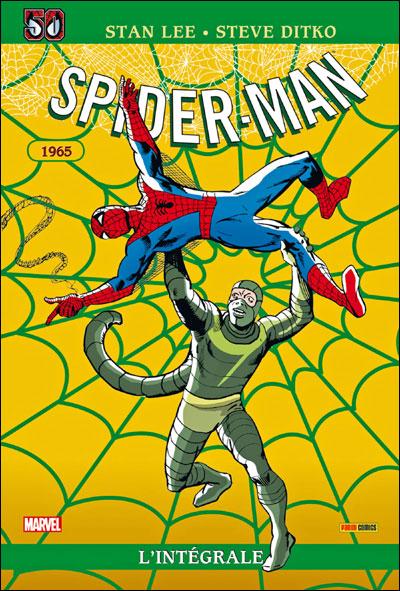 Spider-Man - Intégrale Tome 3  1965 Edition spéciale 50 ans : Intégrale Spider-man T03 ed 50ans 1965