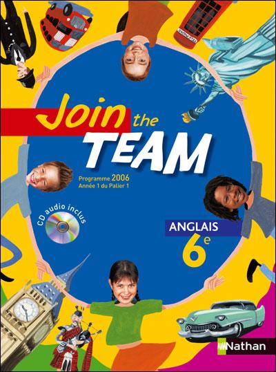 Join the Team 6e 20016 + cd audio