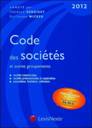 Code des sociétés et autres groupements