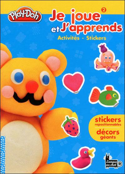 Play-Doh, je modèle mon livre de stickers