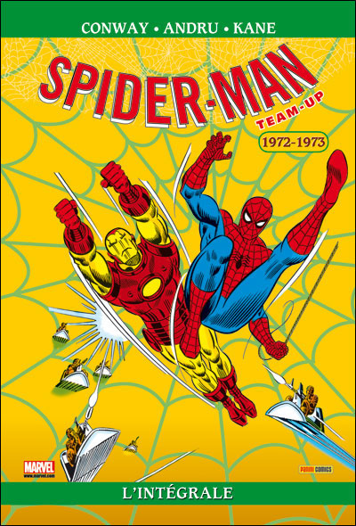 Spider-Man Team up intégrale T23 1972-1973 NED