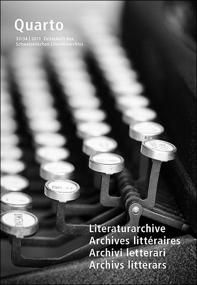 Quarto, revue des archives littéraires suisses