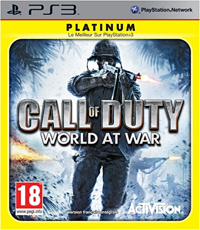 Call of Duty 5 World at War - Edition Platinum - PlayStation 3
