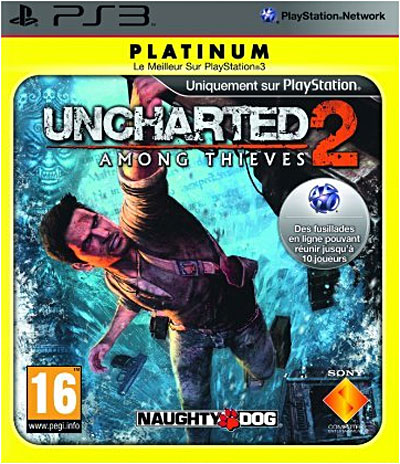 Uncharted 2 : Among Thieves - Edition Platinum