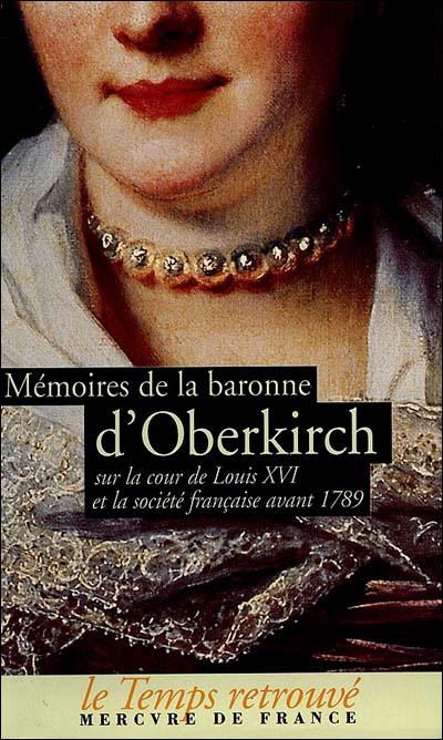 Mémoires de la baronne d'Oberkirch