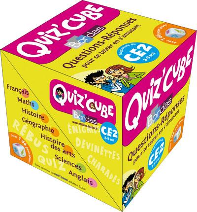Quiz cube ce2