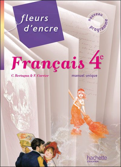 Fleurs D Encre Francais 4e Livre Eleve Grand Format