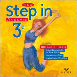 New Step In Anglais 3e - CD audio élève, éd. 2003