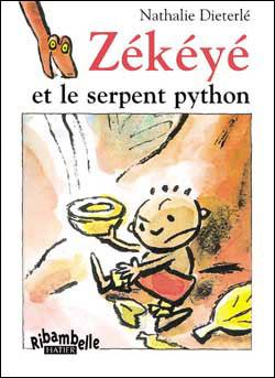 Ribambelle CP série bleue éd. 2008 - Zékéyé et le serpent python - Album 3