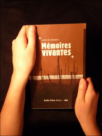Carnet de rencontre mémoires vivantes