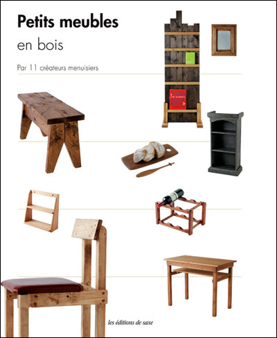 Petits meubles en bois