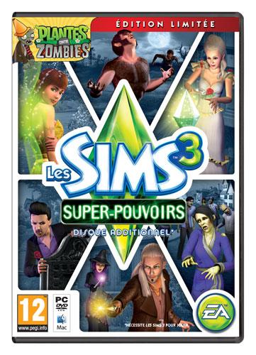 - SubTitle Les Sims 3 - Supernatural. Extension pour le jeu Les Sims 3, nécessite le jeu de base pour jouer - Editeur Electronic Arts - Public