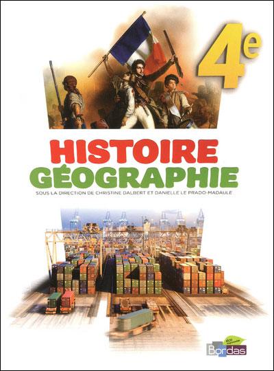 Histoire Géographie 4e 2011 Manuel de l'élève Grand format