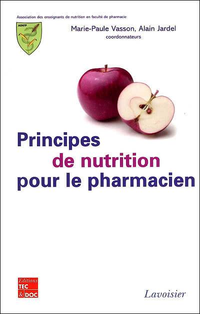 Principes de nutrition pour le pharmacien