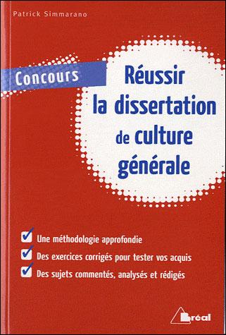 Réussir dissertation de culture générale