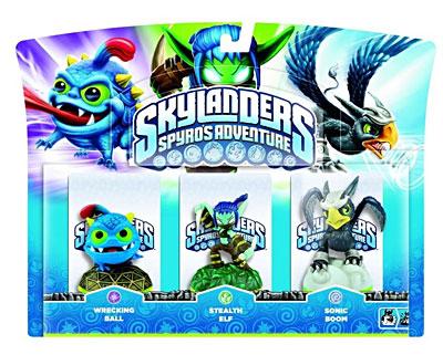- SubTitle Figurines pour le jeu Skylanders - Editeur Activision - Public