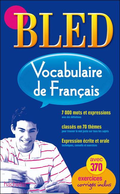 Bled Vocabulaire Francais