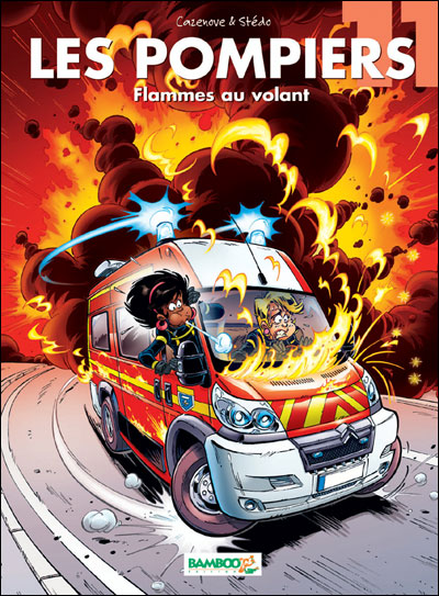 Les Pompiers - Flammes au volant
