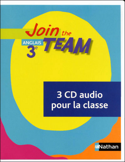 Join the Team 3e CD classe