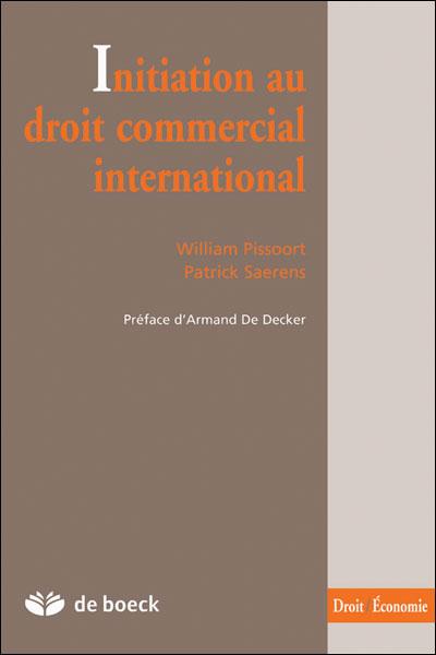 Initiation au droit commercial international