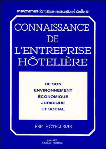 Connaissance de l'entreprise hoteliere