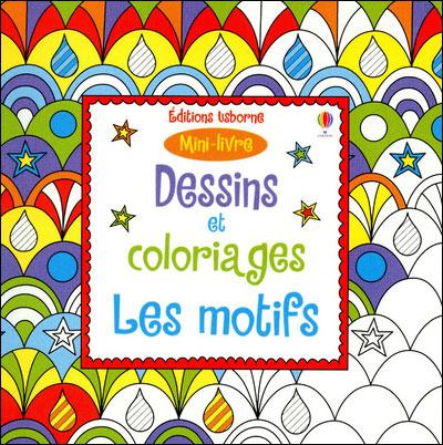 Dessins et coloriages les motifs - Mini-livre