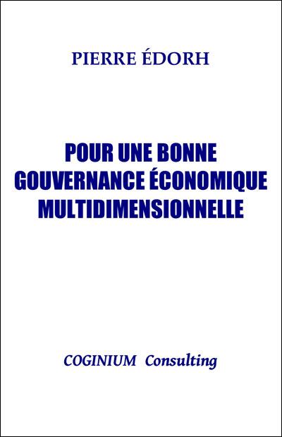 Pour une bonne gouvernance économique multidimensionnelle