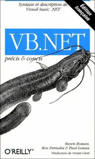 VB Net Pr Cis Et Concis Broch Steven Roman Ron Petrusha Paul