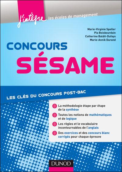 Concours Sésame - 4e éd. - Tout-en-un