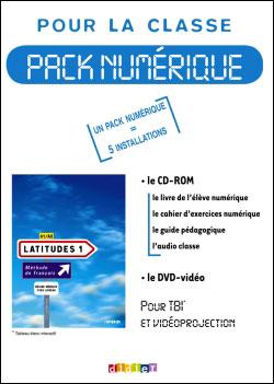 Latitudes 1 niv.A1+ - Pack numérique classe