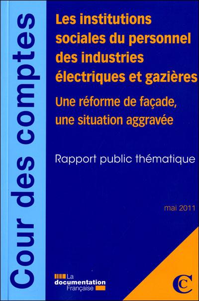 Les institutions sociales du personnel des industries électriques