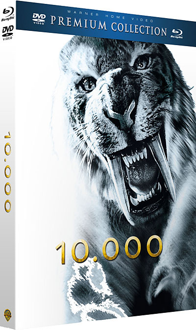 10 000 Premium Collection Combo Blu Ray DVD
