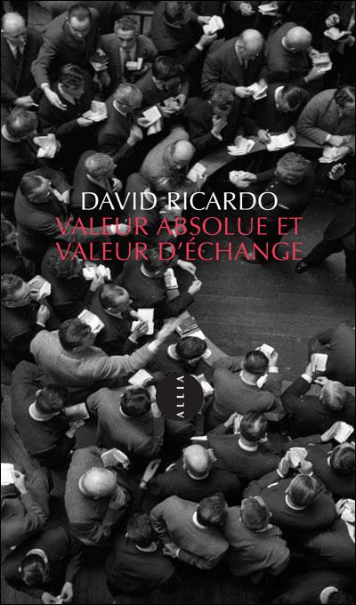 Valeur absolue et valeur d'echange
