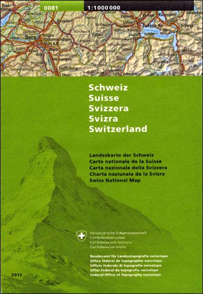 Carte nationale Suisse générale