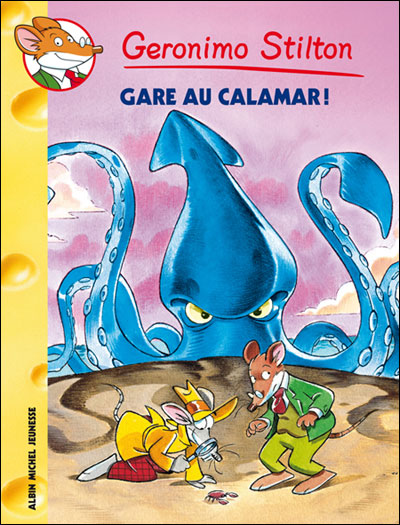 Geronimo Stilton - Tome 56 : Gare au calamar !