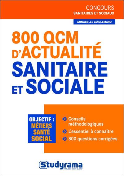 800 QCM d'atualité sanitaire et sociale