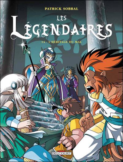 Les Légendaires T14 L'Héritage du mal