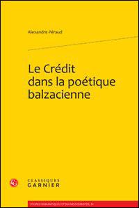 Le crédit dans la poétique balzacienne